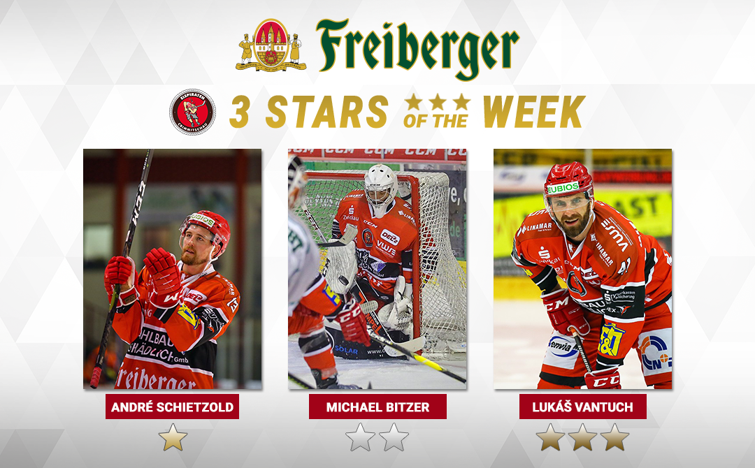 "André Schietzold ist ""Freiberger – Star of the week"""