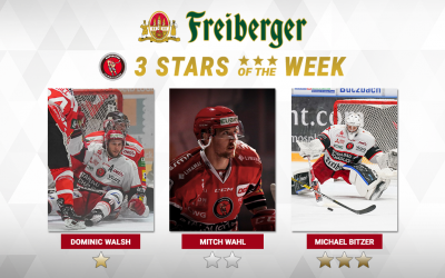 """Dominic Walsh ist """"Freiberger – Star of the week"""""""