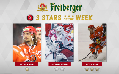 """Patrick Pohl ist """"Freiberger – Star of the week"""""""