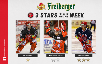 "Petr Pohl ist ""Freiberger – Star of the week"""